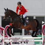 【馬術】総合馬術アジア大会、日本が金メダル獲得!