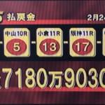 【競馬】WIN5払戻金ランキングTOP3とそのお金で買えるもの
