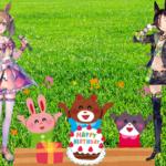 【ウマ娘】今日はウオッカ&スマートファルコンの誕生日!