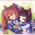 【ウマ娘】桜花賞の公式イラストはダイワスカーレットとニシノフラワー!